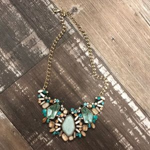 Chloe and Isabel aquamarina necklace